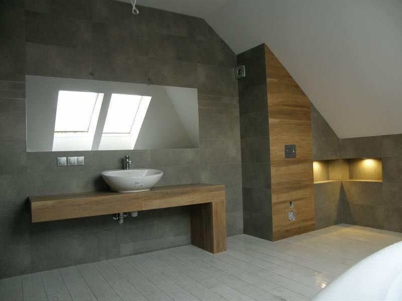 łazienka Wykonana Pod Projekt Robert Malak Mistrz